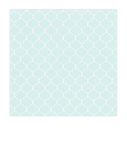 7c Very Light Turquoise Dotted Moroccan tile LARGE SCALE - 7x7 inch