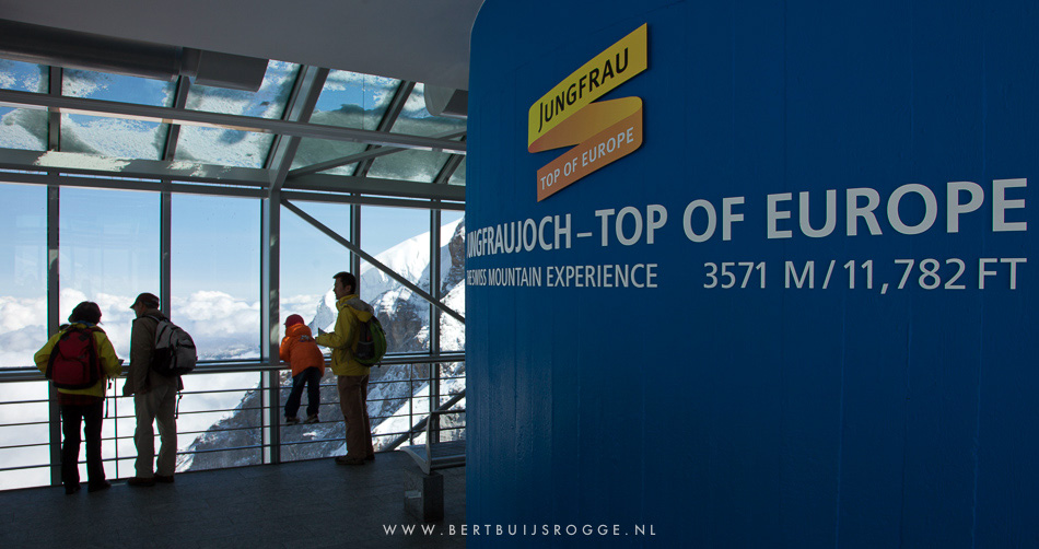 Trainride Jungfraujoch top of europe