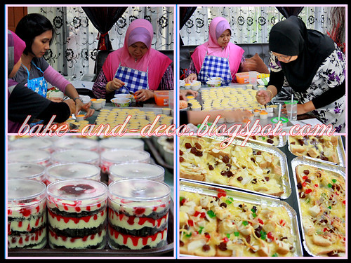 Baking & Deco Class: Variety Cheese ~ 17 July 2012