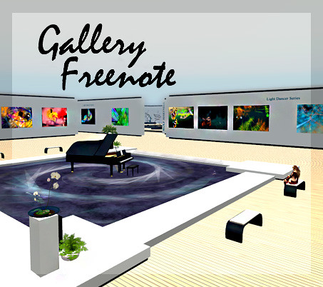 Expanded Gallery Freenote by Teal Freenote