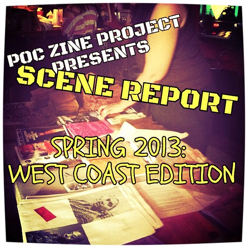 POCZP Scene Report graphic: Spring 2013 West Coast Edition