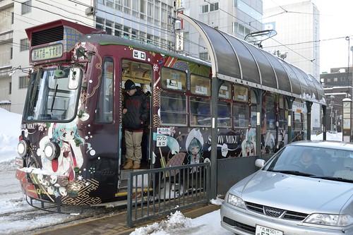 雪ミク電車 2013