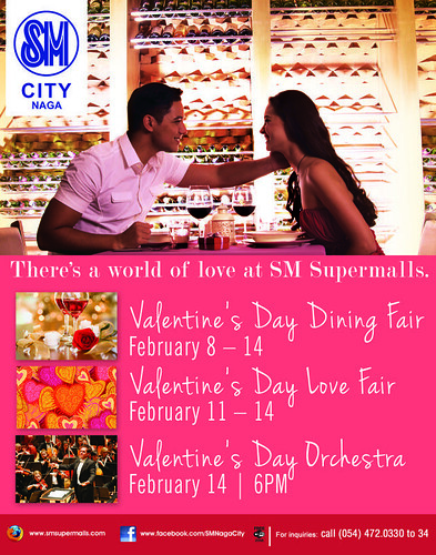 SM City Naga Valentines Activities