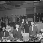 Pres. Eisenhower in Boston, accompanied by Gov. Herter