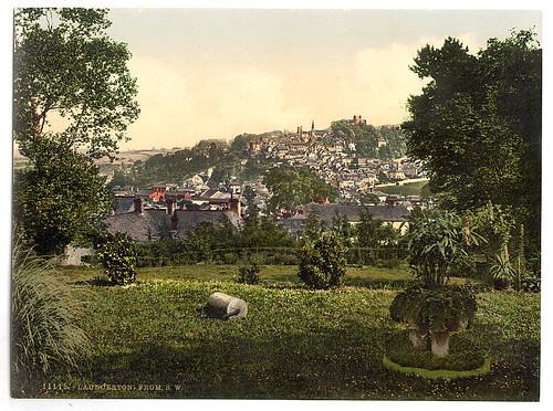 [Launceston from S.W., Cornwall, England]  (LOC)