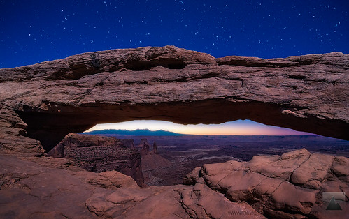 Moonlight Symphony - Mesa Arch, Canyonlands NP, Utah