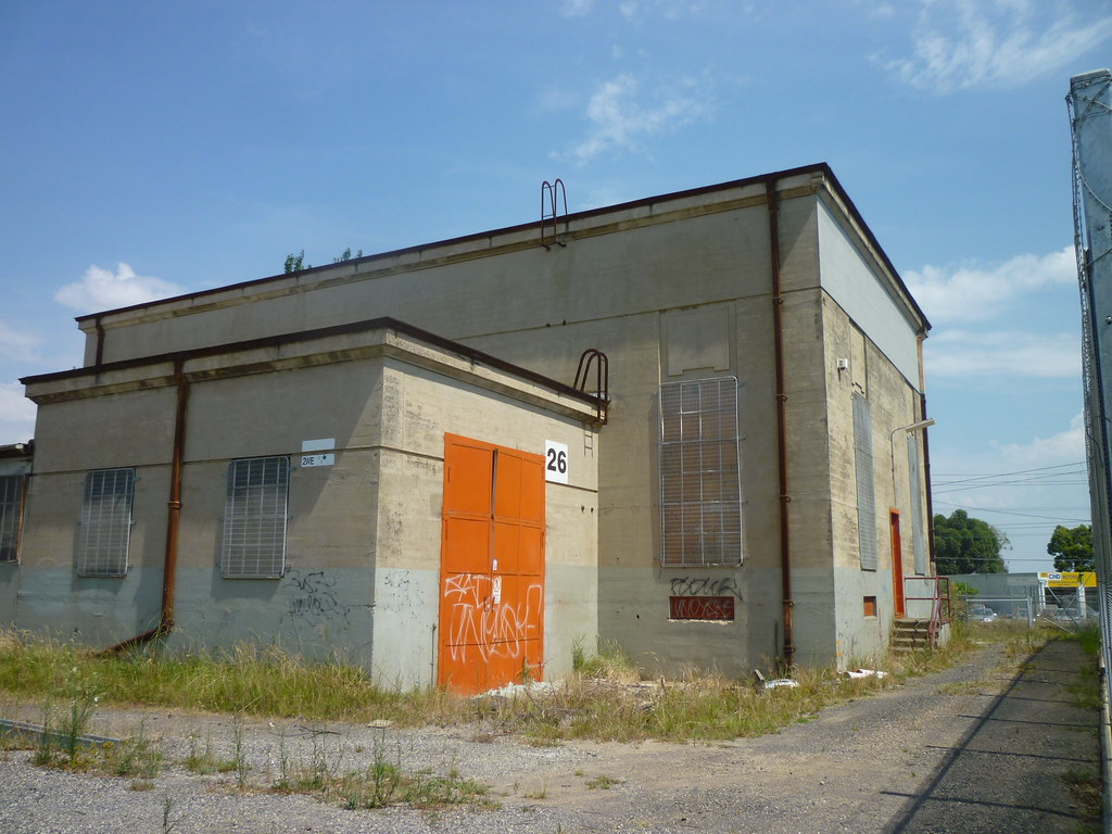 Former Springvale Traction Substation by AS 1979