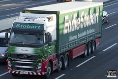 Volvo FH 6x2 Tractor - PX60 CPE - Skye Mae - Eddie Stobart - M1 J10 Luton - Steven Gray - IMG_0508