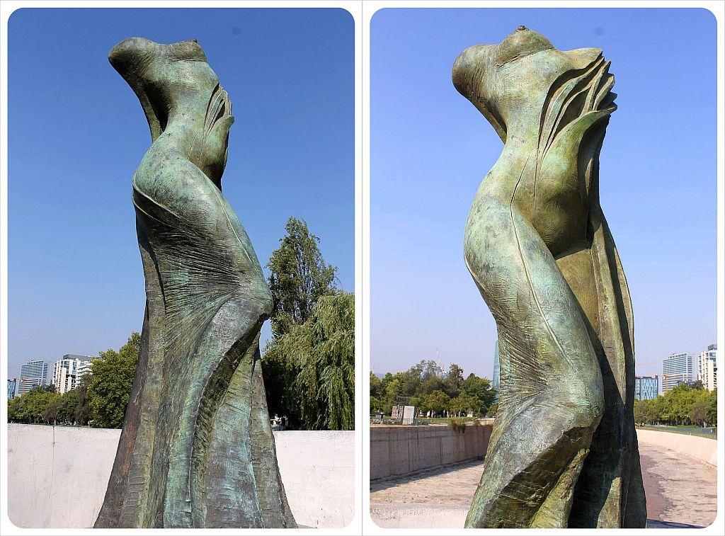 sculptures of santiago a photo essay globetrottergirls santiago female body sculptures