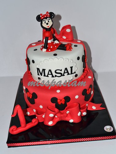 minnie mouse cake by MİSSPASTAM