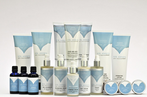Ste Anne's Spa product line
