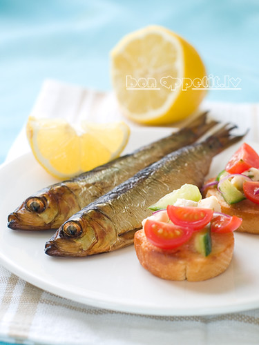 Smoked fish with bruschetta by Viktorija_k