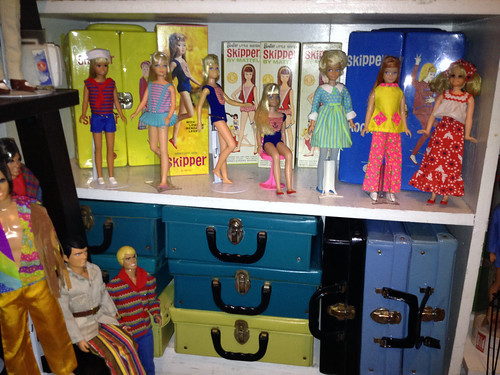 Skips and cases full of duplicate clothing