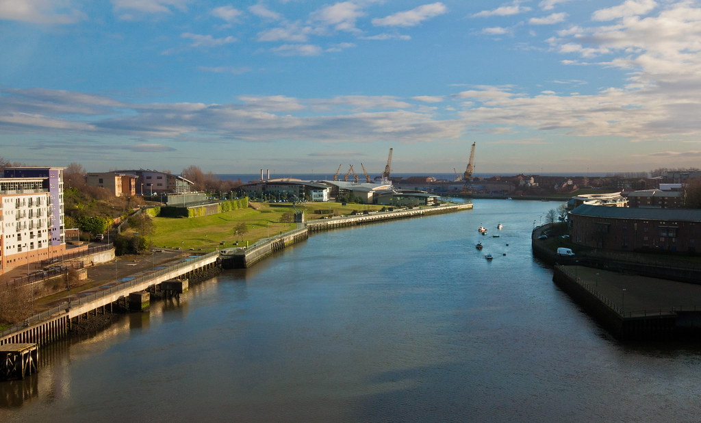 Matalien rakennusten Sunderland   Englanti