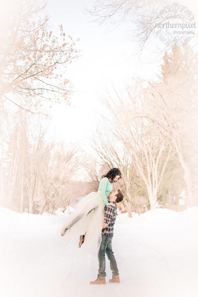 Winter Ballet Engagement