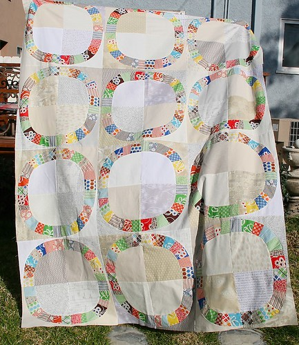 Low Volume Single Girl Quilt