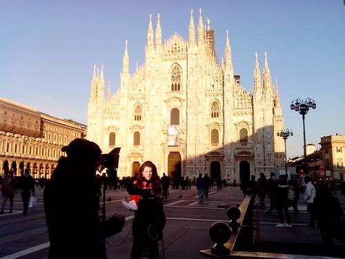 Gioco con tagli di luce del Duomo by Ylbert Durishti