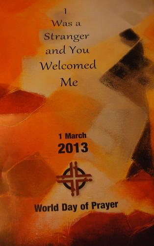 World Day of Prayer 2013.