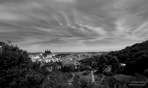 Prague castle, panorama by Zdenek Papes