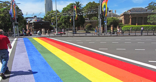 Rainbow Crossing, II | by Newtown grafitti