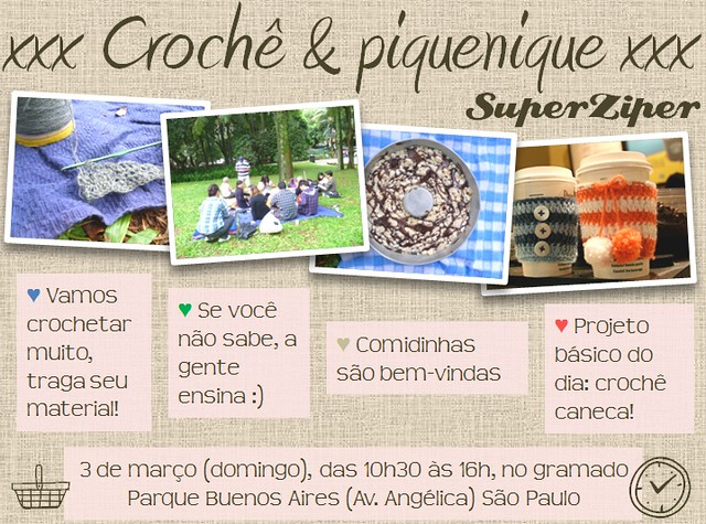 piquenique & croche