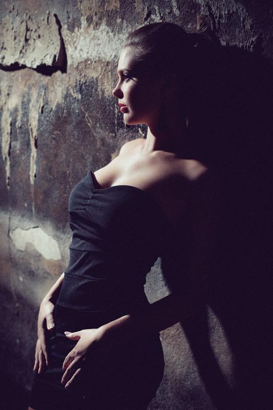 Фотосессия в студии, фотосъемка девушки