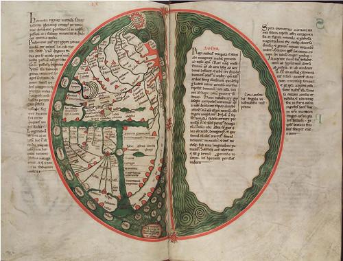 019-Liber floridus – siglo XII- © Herzog August Bibliotek