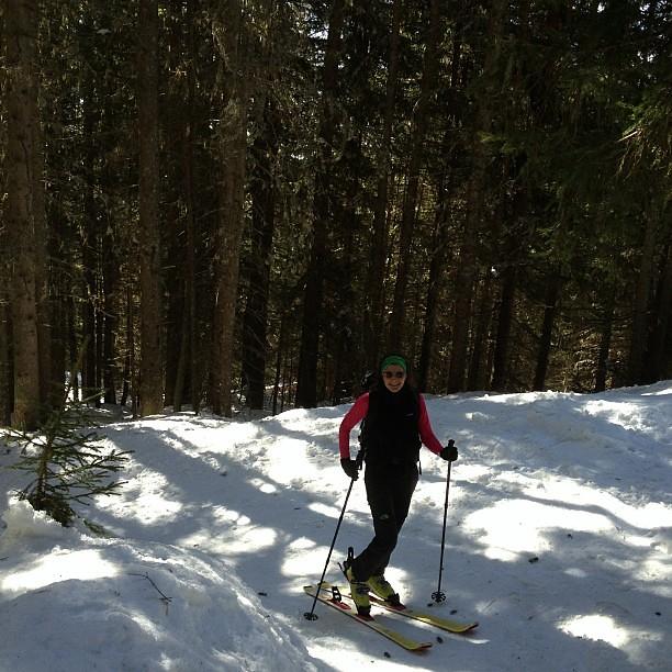 #skitouring bonjour!