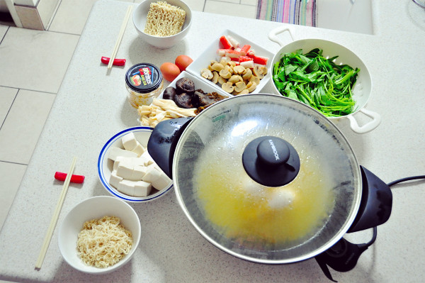 Steamboat / Hotpot Dinner on Rainy Day