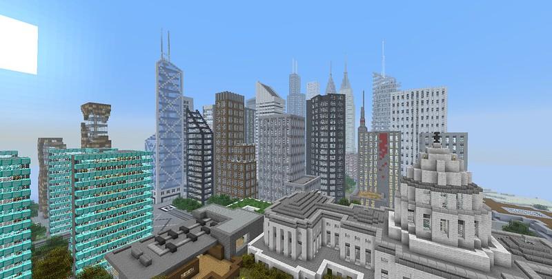 Minecraft world map skyscraper city e land creative new city gumiabroncs Choice Image