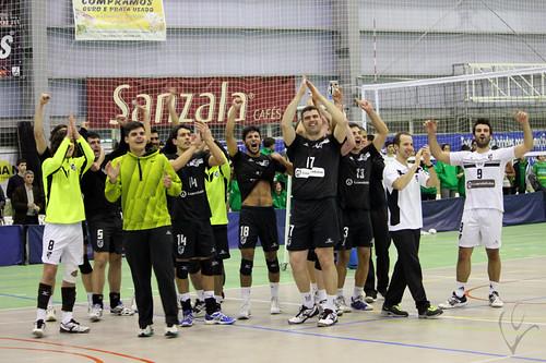 Voleibol: Atlântico da Madalena 1-3 Vitória SC