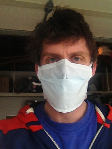 Me in my sick day surgical mask