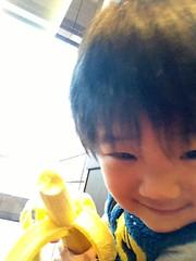 スタバでバナナ 2013/3/5