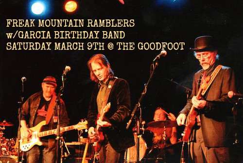 Freak Mountain Ramblers @ The Goodfoot