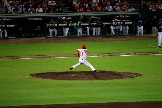 Photo:2012/8/21 Hiroshima Toyo Carp vs. Yokohama DeNA BayStars (@Mazda Stadium) By Kohei314
