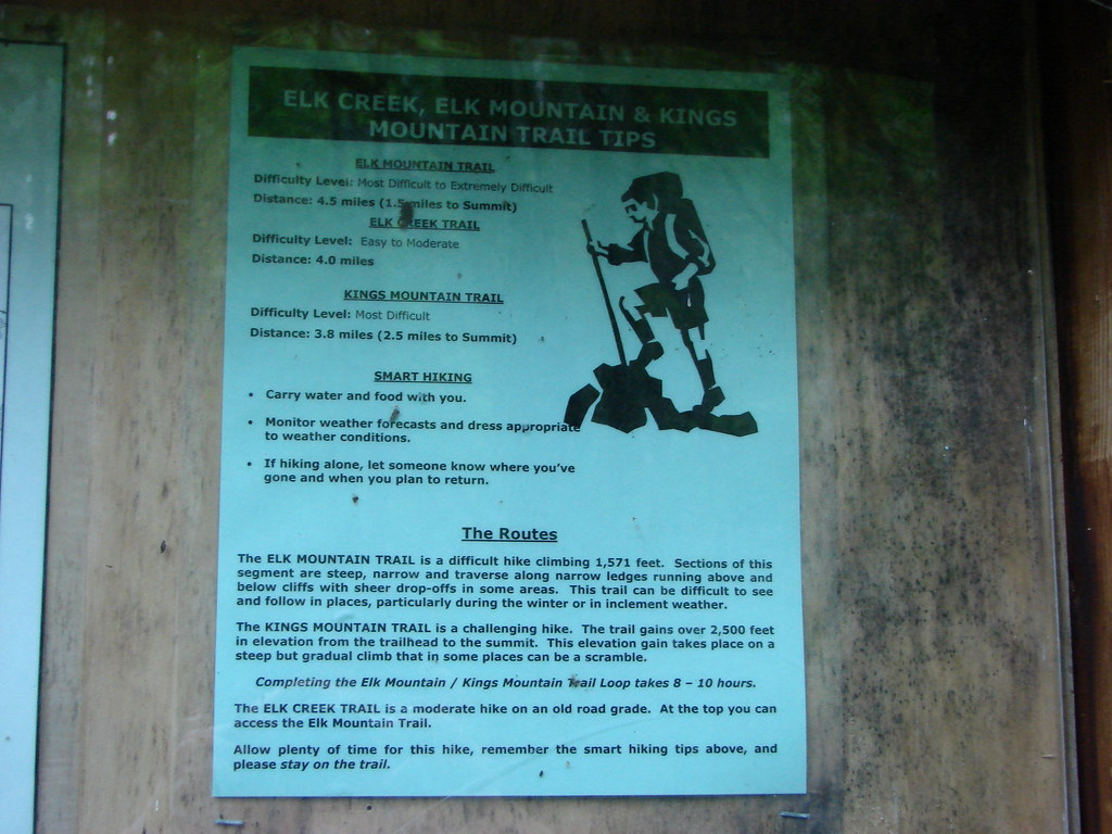 Elk Mountain Trail information