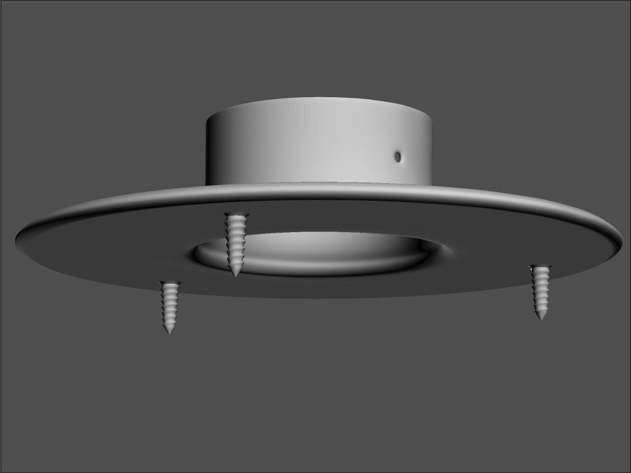 Flange With Scews 02