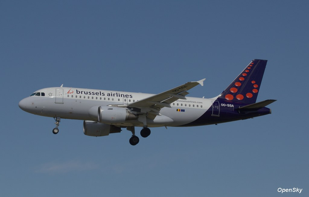 Brussels Airlines Airbus A319-111 OO-SSA (cn 2392)