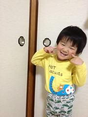 寝る前のとらちゃん 2013/3/8