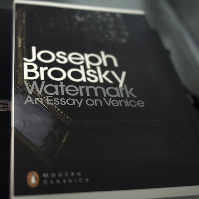 watermark an essay on venice by joseph brodsky Watermark has 1,214 ratings and 117 reviews kalliope said: he is buried therejoseph brodsky is buried in the isola di san michele cemetery in venice.