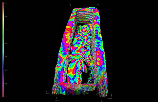 3D Scan data from Roman sarcophagus
