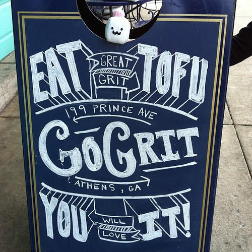 Eat Great Grit Tofu.