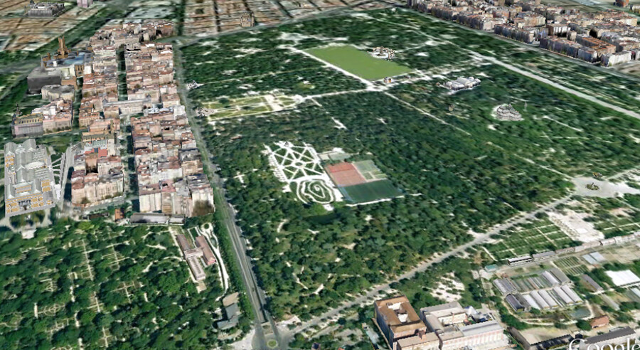 Parque del Retiro, overzicht