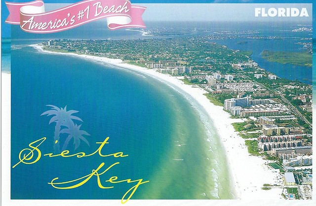 Where Is Siesta Key Beach In Florida Map
