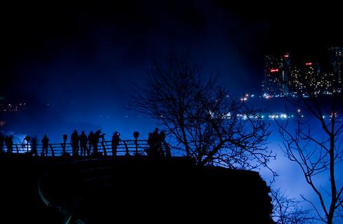The sight of many photographers enjoying Niagara Falls by TKlacewing