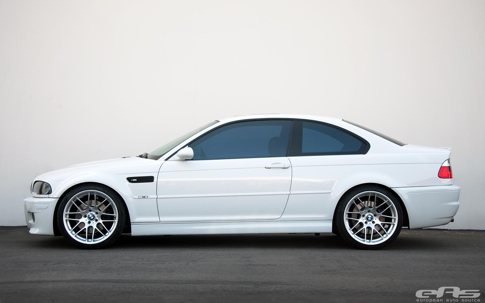 A Clean Alpine White E46 M3 Bmw Performance Parts Services