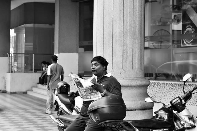 Newspaper reading habit
