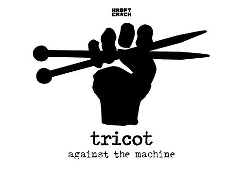Tricot against the machine
