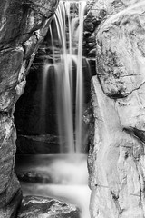 """石中水靜流 Water falls among rocks"" / 寧 Serenity / SML.20130331.7D.37395.C23.BW"