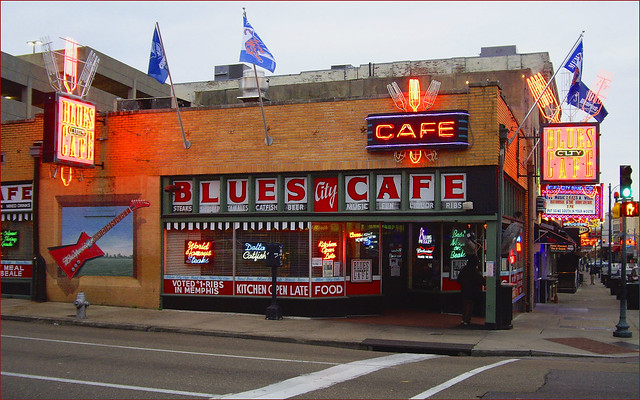 Blues City Cafe Memphis